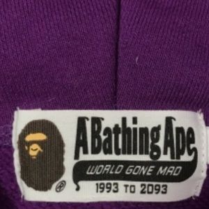 54f08679b Bape Jackets & Coats | Purple Camo Full Zip Hoodie | Poshmark